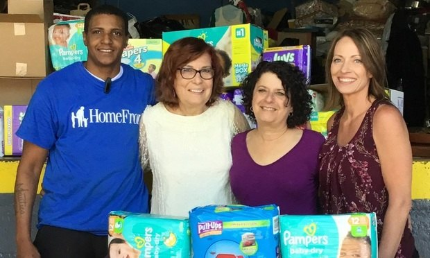 Hill Wallack LLP Accepts HomeFront Diaper Challenge