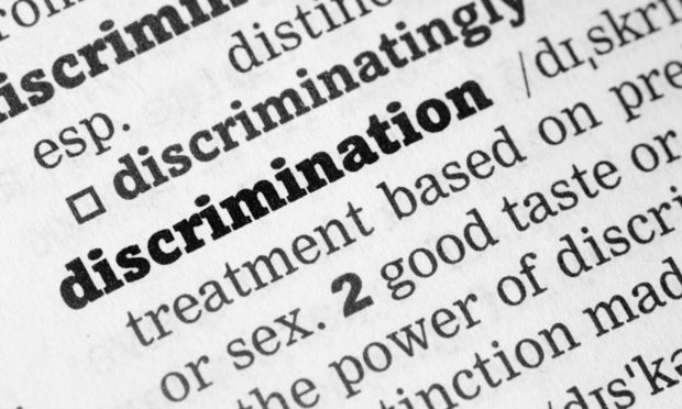 Discrimination definition in dictionary