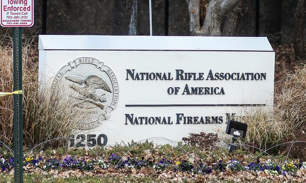 National Rifle Association headquarters in Fairfax, Virginia/Photo courtesy of Nicole S Glass/Shutterstock.com