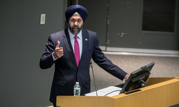 Gurbir S. Grewal, Attorney General of NJ, speaks at Seton Hall Law School