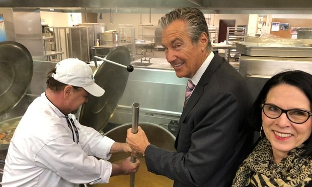 Cooper Levenson Donates Ingredients for Thanksgiving Meals