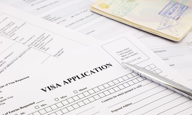 Visa application/courtesy of shutterstock