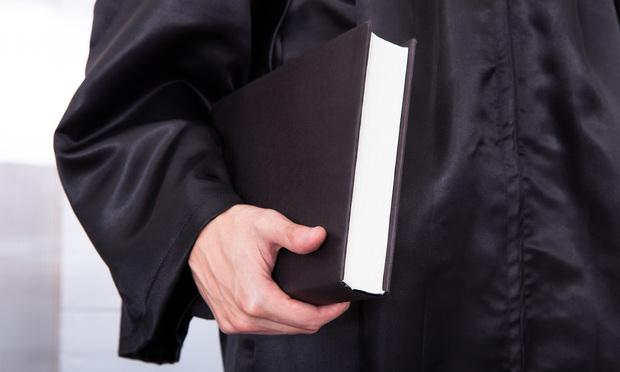 judge robe - Credit: Andrey_Popov/Shutterstock.com