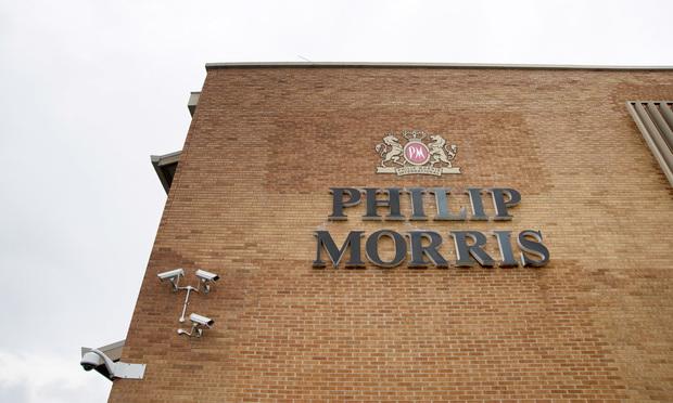 Philip Morris International Inc. Photo by Carla Gottgens/Bloomberg