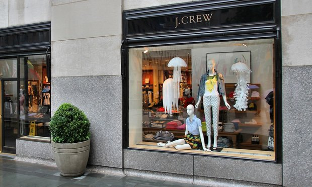 J. Crew store/photo by Shutterstock.com