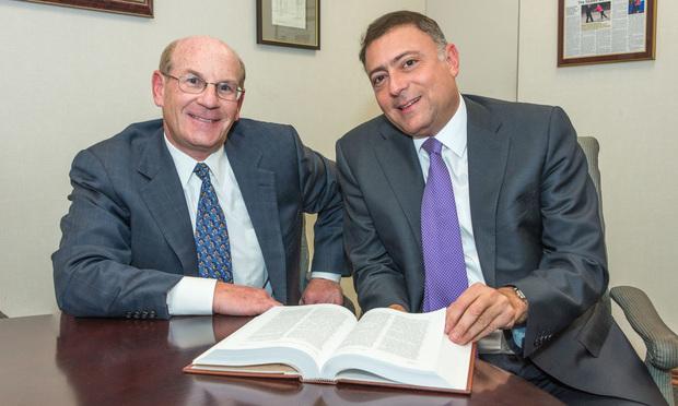 Stanley D. Bernstein, left, and Sandy A. Liebhard, right, of Bernstein Liebhard. Courtesy photo.