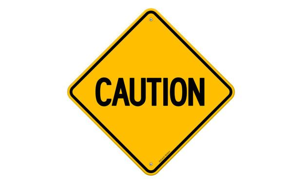 Caution Sign - Credit: Vitezslav Valka/Shutterstock.com