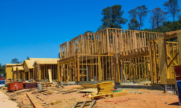 multiple home construction.
