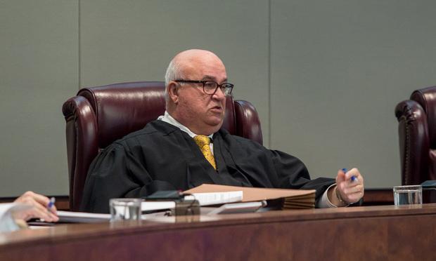New Jersey Supreme Court Justice Faustino J. Fernandez-Vina.