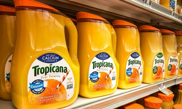 Judge Sours on Class Certification of 'Natural' Tropicana OJ MDL