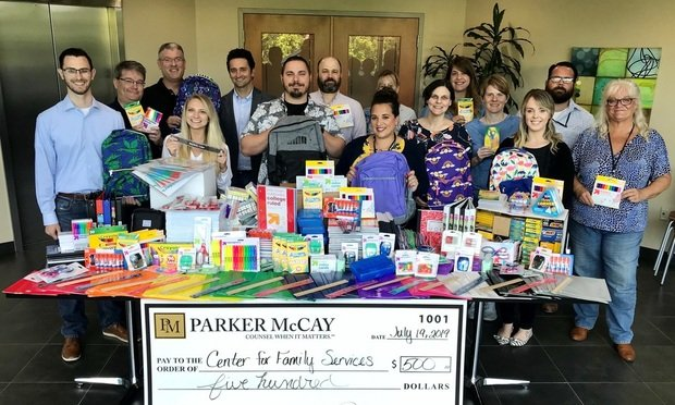 Parker McCay Rounds up School Supplies for Project Backpack