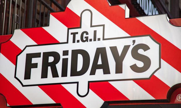 T.G.I. Friday's sign.