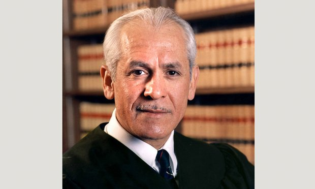 Judge Julio Fuentes of the U.S. Court of Appeals for the Third Circuit. (Photo: Carmen Natale/ALM)