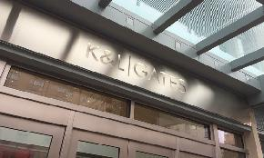 K&L Gates Scoops Up 4 From LeClairRyan in Newark