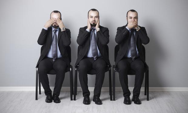 three wise businessmen
