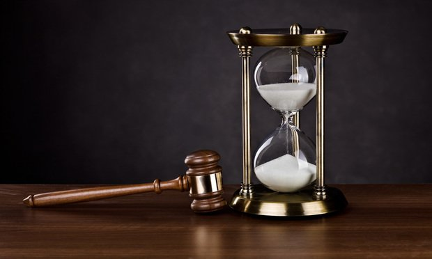 Gavel and hourglass/courtesy of Bigstock
