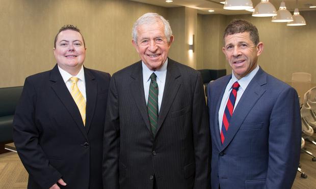 Left to right: CJ Griffin, Gary S. Stein, Michael S. Stein