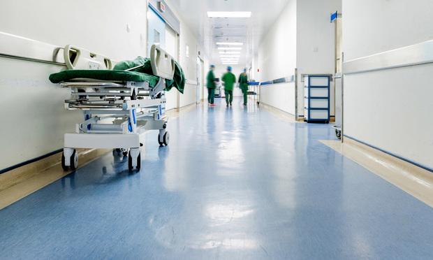 Hospital interior.