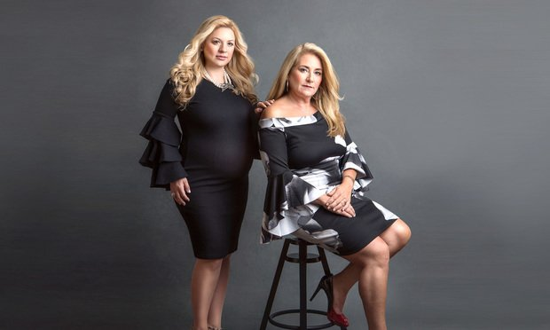 Genova Burns of counsel Maria Fruci, left, and partner Kathleen Barnett Einhorn, right, who are chairing the firm's new fashion law group.