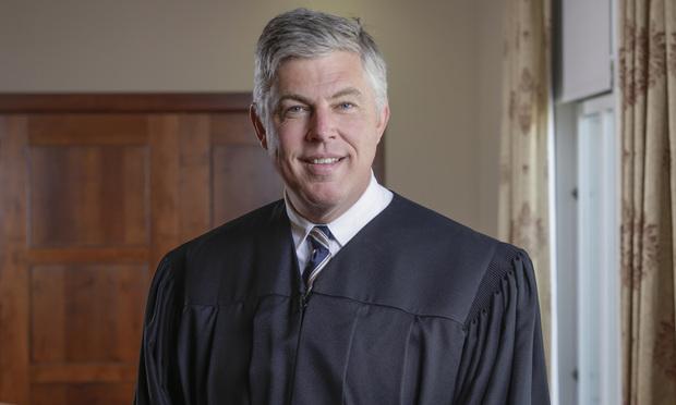 Federal Judge James Clark/photo by Carmen Natale