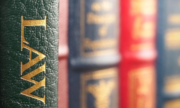Law book.