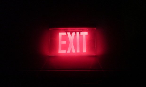 Exit sign - Photo by Dan Paluska, via Flickr