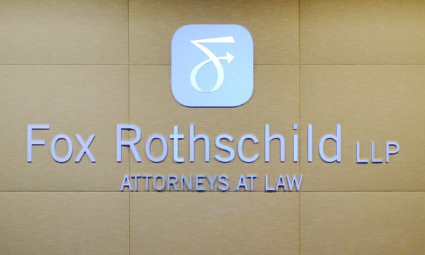 Fox Rothschild sign