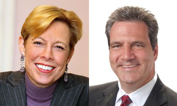 Nancy Erika Smith of Smith Mullin and David Osterman of Goldberg Segalla.