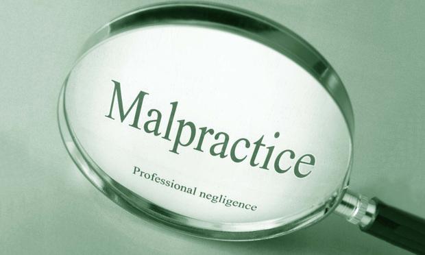 Malpractice text.