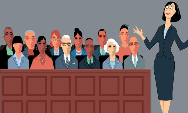 address the jury