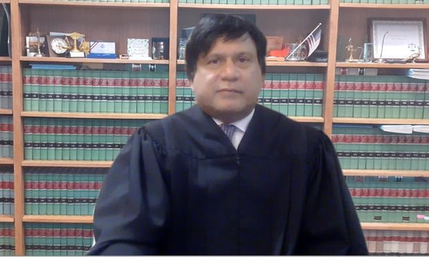 Passaic County Superior Court Judge Sohail Mohammed (courtesy photo)