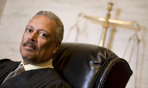 Judge Emmet Sullivan of the U.S. District Court for D.C. July 20, 2006. Photo by Diego M. Radzinschi/LEGAL TIMES.