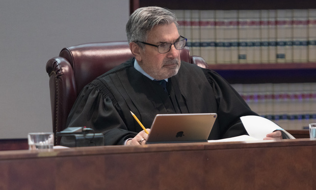 New Jersey Supreme Court Justice Walter Timpone/Photo: Carmen Natale/ALM