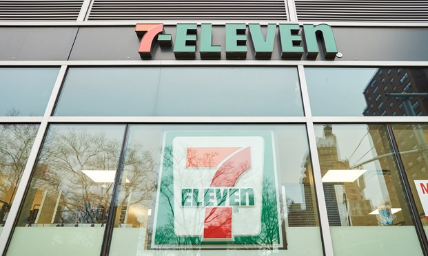 7-Eleven store in New York.