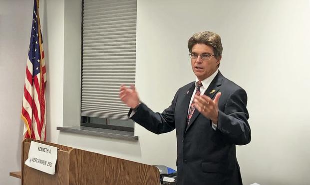Attorney Kenneth Vercammen.