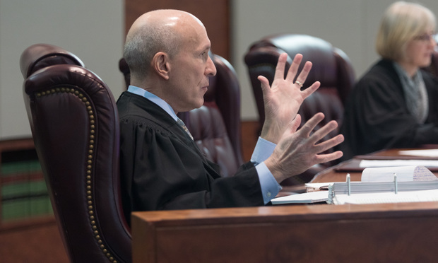 New Jersey Supreme Court Justice Lee Solomon/photo by Carmen Natale/ALM