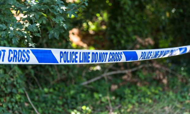 police tape - shutterstock