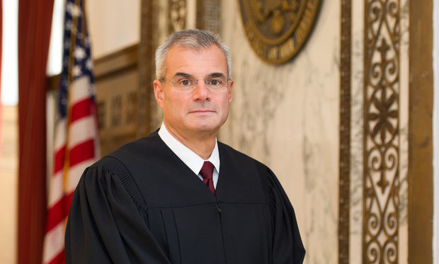 U.S. District Judge Brian R. Martinott, of New Jersey.