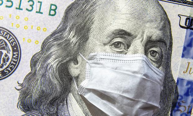 coronavirus, money - Shutterstock.com