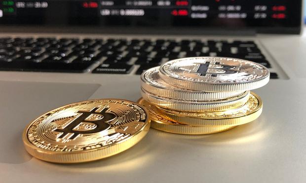 Cyrptocurrency Bitcoin.