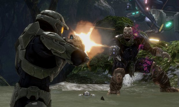 Halo 3 video game. Credit: Microsoft