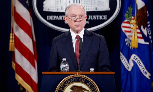 Attorney General Jeff Sessions/Photo: Diego M. Radzinschi/ALM