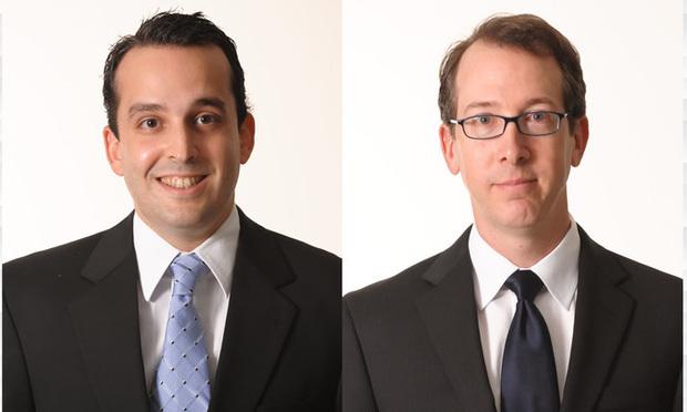 Ricardo Prieto, left, and Todd Slobin, right, with Shellist Lazarz Slobin/courtesy photos