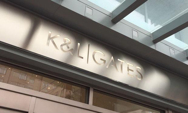 K&L Gates office sign/photo by Diego M. Radzinschi