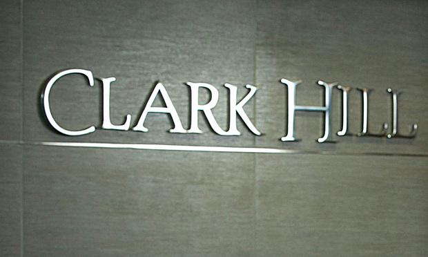 Clark Hill sign