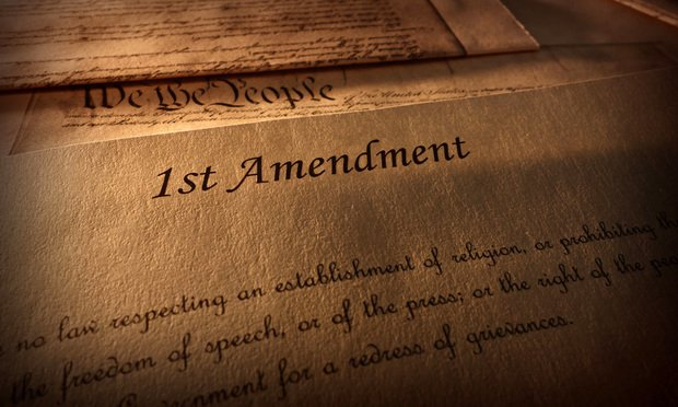 First Amendment of the U.S. Constitution/Credit: zimmytws/Shutterstock.com