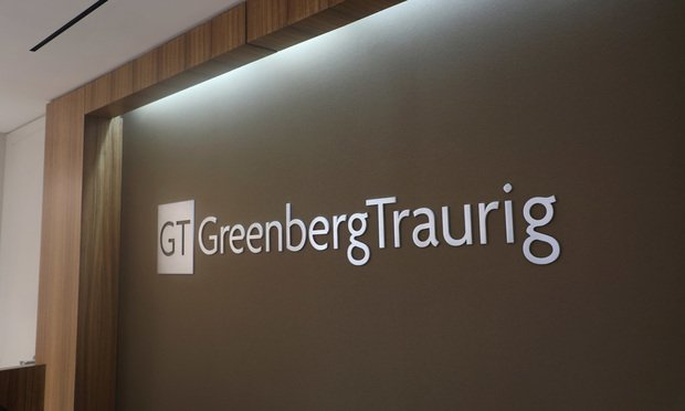 Greenberg Traurig office. Photo by J. Albert Diaz