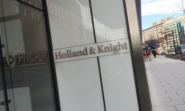 Holland & Knight office/courtesy photo
