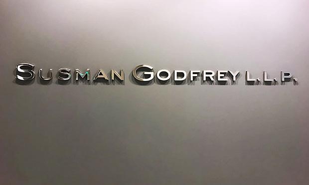 Susman Godfrey.