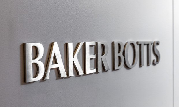 Baker Botts sign